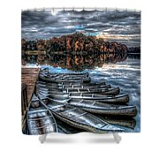 Sleep Canoes Warrenton Va 2012 Shower Curtain