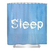 Sleep Shower Curtain
