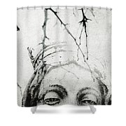 Sleep Walk Shower Curtain