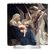 Sleeping Baby Jesus Shower Curtain