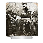 Sleeping Beauty, C1900 Shower Curtain