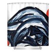 Sleeping Dog Shower Curtain
