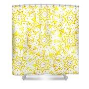 Sleeping Sun Shower Curtain