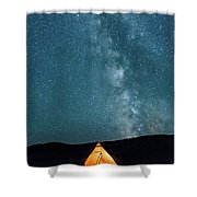 Sleeping Under The Stars Shower Curtain