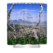 Sleeping Ute Mountain - From Mesa Verde National Park Shower Curtain
