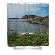 Sleepy Cove Shower Curtain