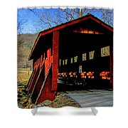 Sleepy Hollow Bridge Shower Curtain