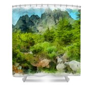 Slesse Shower Curtain