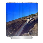 Slice Of Earth Shower Curtain