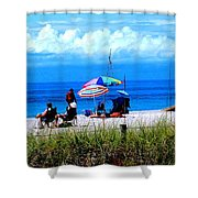 Slice Of Venice Beach Shower Curtain