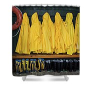 Slickers Shower Curtain