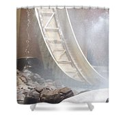 Slide Splash Shower Curtain