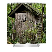 Sliding Downhill Shower Curtain