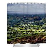 Slieve Gullion, Co. Armagh, Ireland Shower Curtain