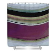 Slight Curve Shower Curtain