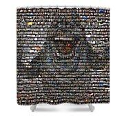Slimer Mosaic Shower Curtain