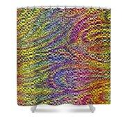 Slinky Shower Curtain
