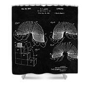 Slinky Patent Design  Shower Curtain