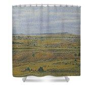 Slope County Splendor Shower Curtain