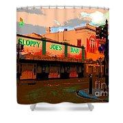 Sloppy Joes Bar Electric Shower Curtain