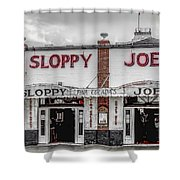Sloppy Joe's Saloon- Key West Shower Curtain