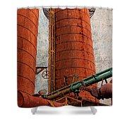 Sloss Boiler Shower Curtain