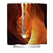 Slot Canyon Light Shower Curtain