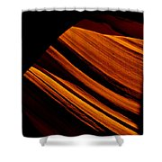 Slot Canyon Striations Shower Curtain