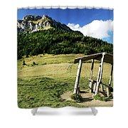 Slovak Mountains Shower Curtain