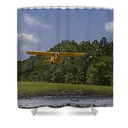 Slow And Low Shower Curtain