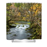 Slow Down At Alley Shower Curtain