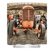 Slow Rural Decay Shower Curtain
