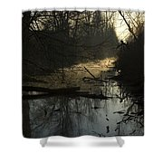 Slue Shower Curtain
