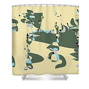 Slumber Party 3 Shower Curtain