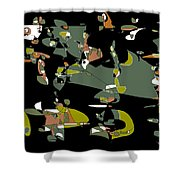 Slumber Party Shower Curtain
