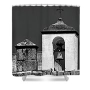 Small Bell Tower Shower Curtain