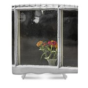 Small Bouquet Shower Curtain
