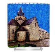Small Church 4 Shower Curtain