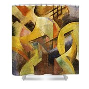 Small Composition I 1913 Shower Curtain