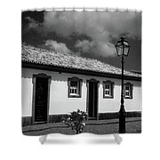 Small Cottage Shower Curtain