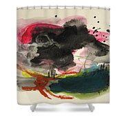 Small Landscape12 Shower Curtain