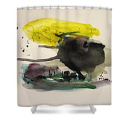 Small Landscape16 Shower Curtain