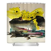 Small Landscape17 Shower Curtain