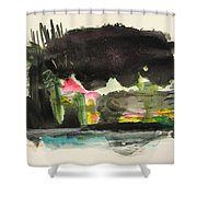 Small Landscape34 Shower Curtain