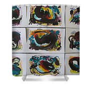 Small Landscape5 Shower Curtain