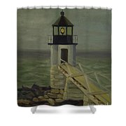 Small Lighthouse Shower Curtain