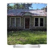 Small Limestone Home Shower Curtain