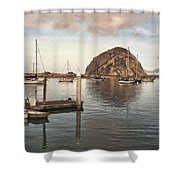 Small Pier Shower Curtain