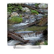 Small Rapids Shower Curtain