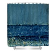 Small Seascape 10 Shower Curtain